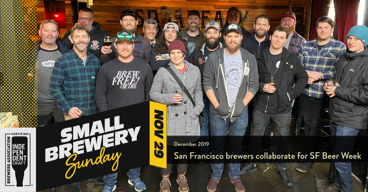 Small Brewery Sunday - SF